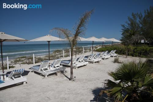 Apartment for couples in superb location of Bradenton Beach