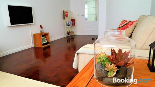 Home with internet in central location of Ribeira Grande