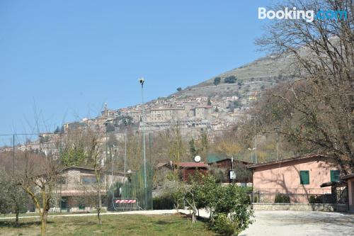 2 bedrooms place in Palestrina with internet.