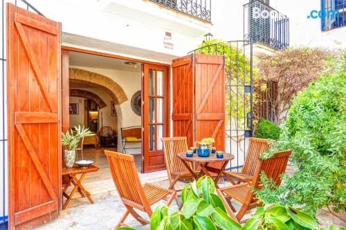Apartment with air in incredible location of Sitges