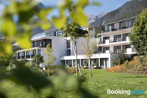 Large apartment in Telfes im stubai with terrace