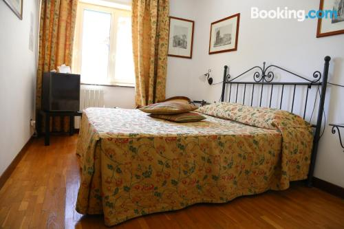 Stay cool: air-con apartment in Frascati with terrace