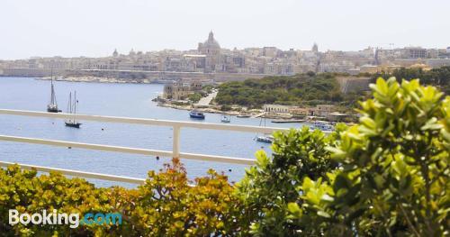 Apartamento de 22m2 en Sliema con wifi y vistas