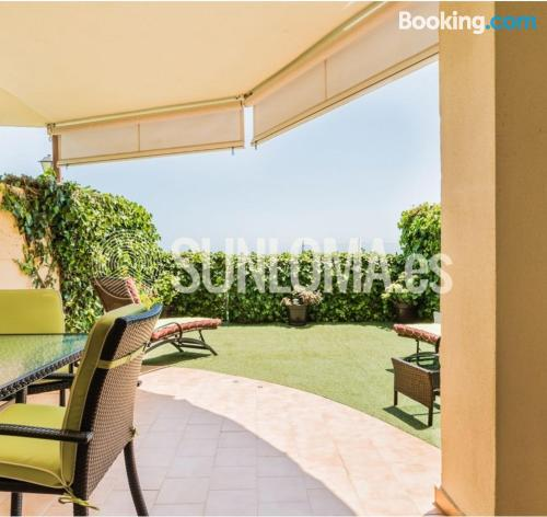 Apartment with terrace in Fuengirola.