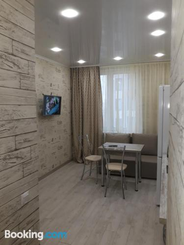 Place with internet with one bedroom apartment.