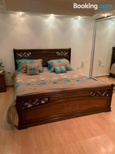 Cot available. With terrace.
