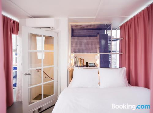Apartment for 2 people in Amsterdam with heating
