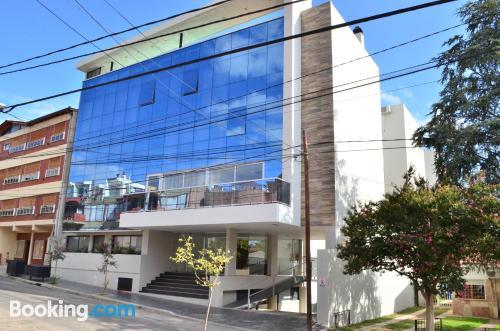 Apartamento con terraza y wifi en Villa Carlos Paz. ¡45m2!