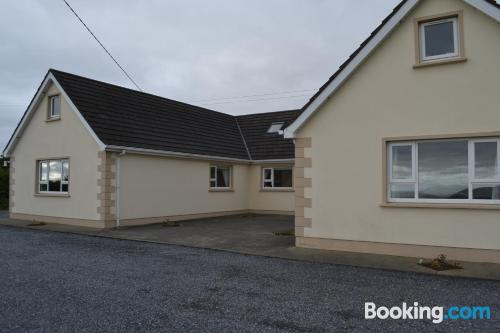 Ideal apartment. Buncrana from your window!