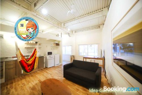 Stay cool: air-con apartment in Osaka with heat and internet