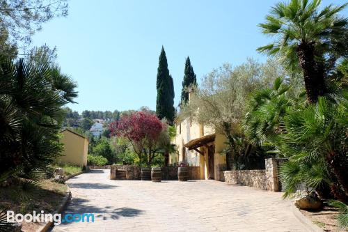 Home in Olivella. Convenient for six or more!.