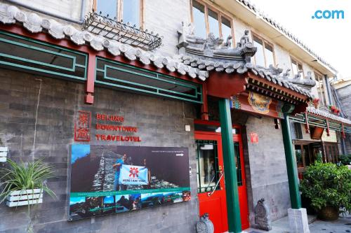 Place in Beijing with terrace and internet