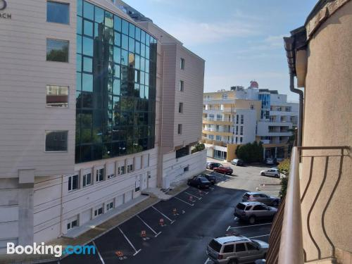 1 bedroom apartment place in Nesebar with pool and terrace.