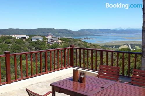 Two rooms home in Knysna with internet.