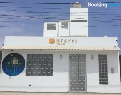 Place for couples in Paracas with terrace