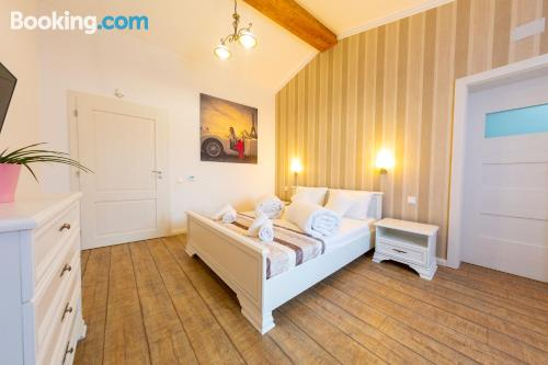 Great one bedroom apartment with terrace and internet.