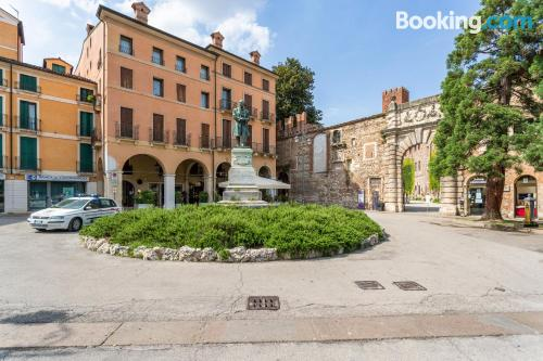 Great location and air in Vicenza with terrace.