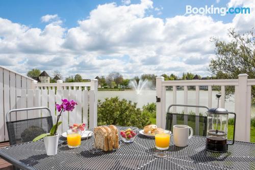 Apartamento con terraza perfecto para cinco o más