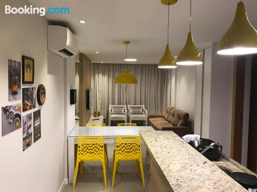 Swimming pool and internet home in Guarajuba with two rooms