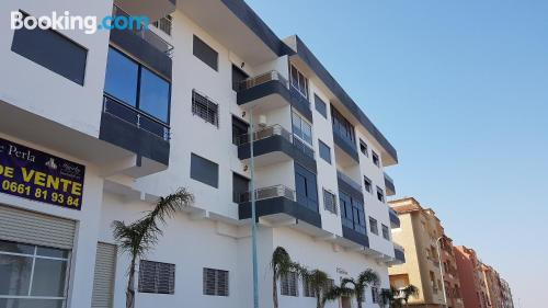 2 bedrooms place with swimming pool.