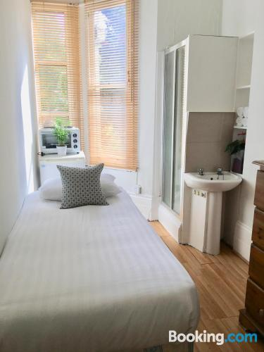 Apartment in London good choice for two people.