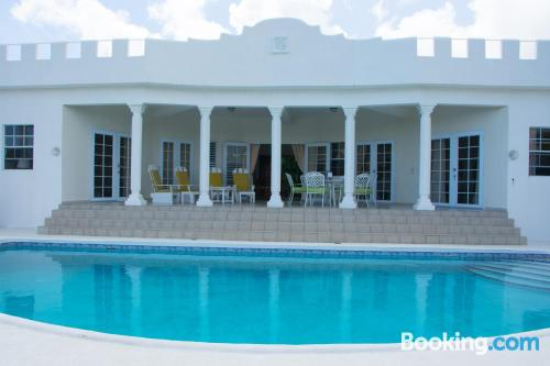 Swimming pool and internet home in Vieux Fort with terrace