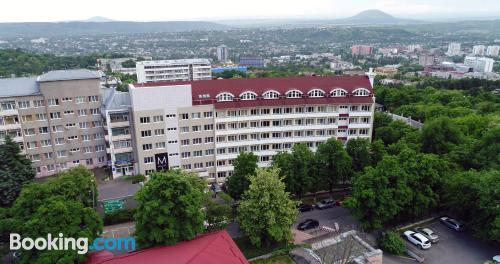 Place in Pyatigorsk with heat and wifi