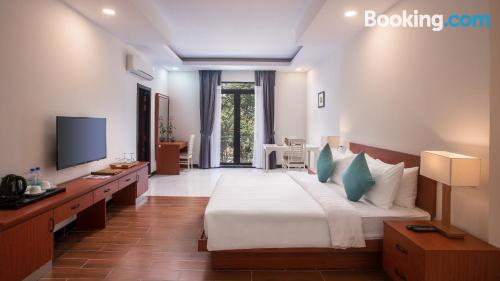 Home for couples in Siem Reap with terrace!.