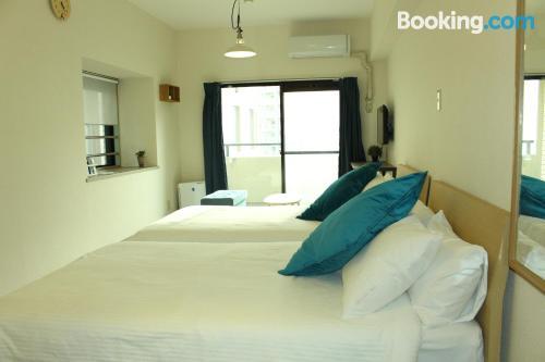 Apartamento de una habitación en Fukuoka.