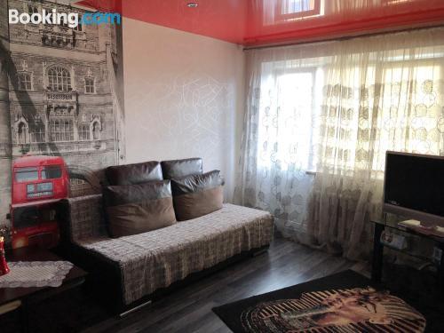 Pequeño apartamento en Baranavichy con calefacción