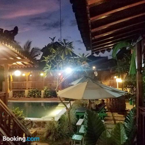 Apartamento para viajeros independientes en Ubud con vistas y internet