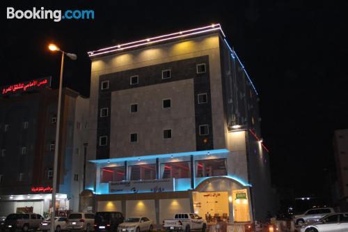 Apartamento en Tabuk con conexión a internet.