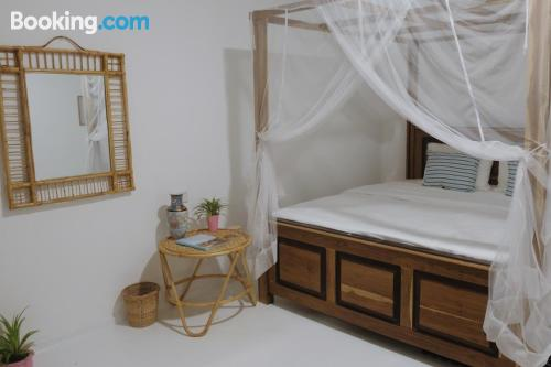Apartamento práctico con vistas y conexión a internet.