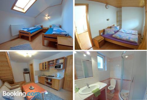 50m2 apartment in Zuberec. Wifi!
