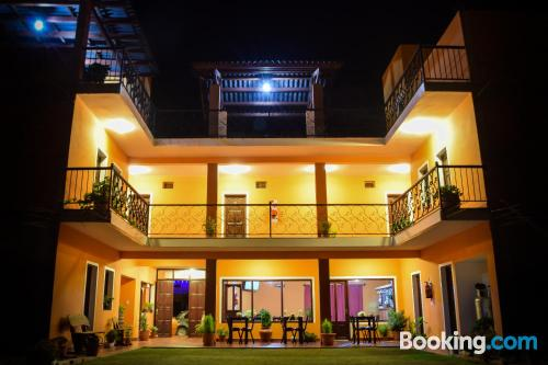 Place with terrace good choice for couples