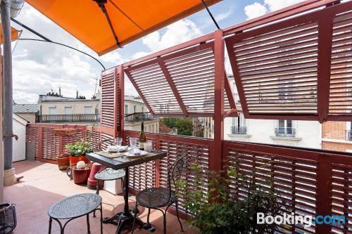 Apartamento con wifi en París.