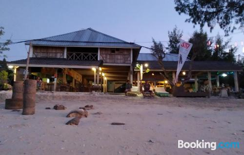 Place for couples in Gili Trawangan with terrace