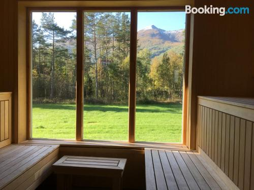 2 rooms home in Valldal convenient for families.