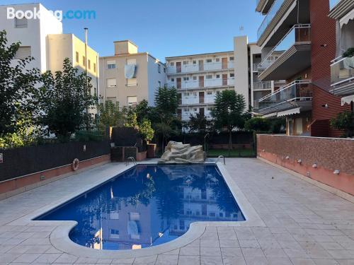 Enorme apartamento en Salou con piscina