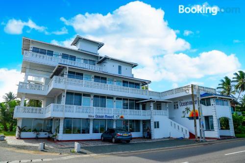 Hikkaduwa apartment with terrace