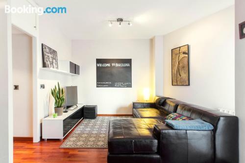 Amplio apartamento en Barcelona. ¡60m2!