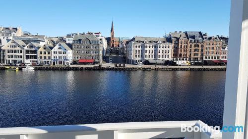 Espacioso apartamento de dos habitaciones en Haugesund