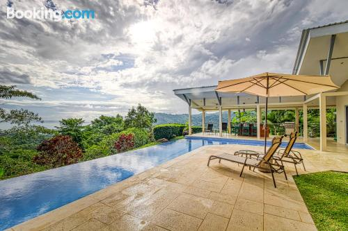 Home in Dominical with terrace and swimming pool.