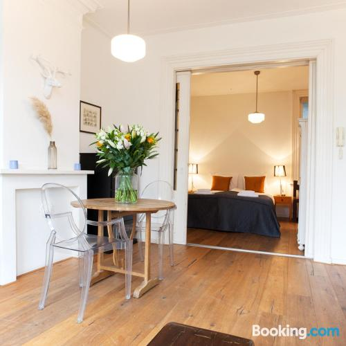 Home for 2 people in Amsterdam with wifi