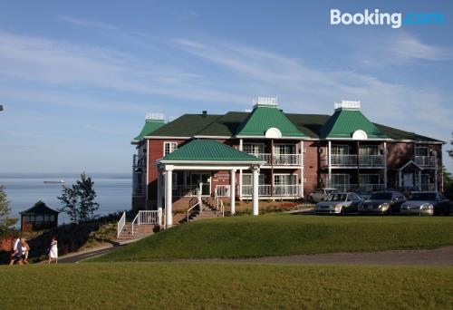 Swimming pool and wifi home in La Malbaie with terrace!.