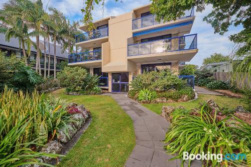Apartamento con terraza en Byron Bay