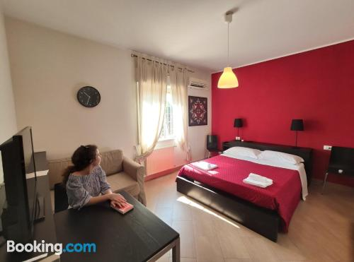 Apartment with air. Convenient!.