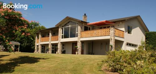 Home for two in Taupo with terrace and wifi