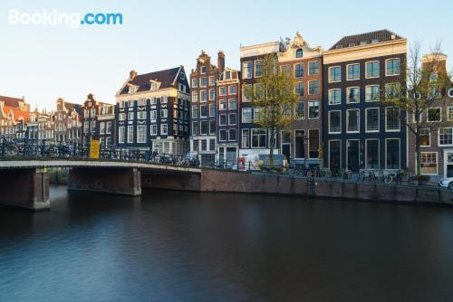 Centro y terraza en Amsterdam con wifi