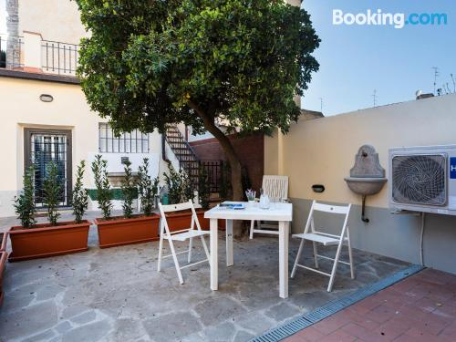 Comfy home in Florence with terrace and wifi.